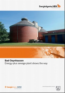 Vorschaubild 1: Bad Oeynhausen - Energy-plus sewage plant shows the way