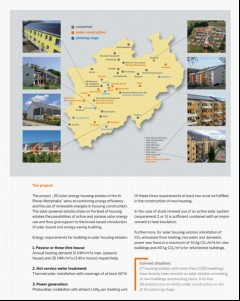 Vorschaubild 2: Building with the sun - 50 solar energy housing estates in North Rhine-Westfalia