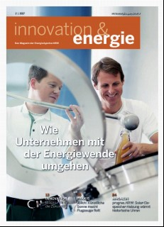 Vorschaubild 1: innovation & energie 2/2017 - deutsch