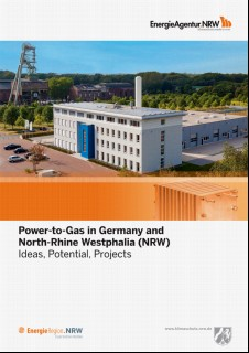 Vorschaubild 1: Power-to-Gas in Germany and North-Rhine Westphalia (NRW)