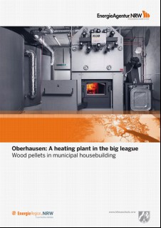 Vorschaubild 1: Oberhausen: A heating plant in the big leagueWood pellets in municipal housebuilding