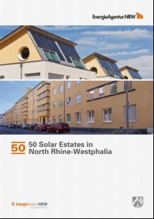 Vorschaubild 1: 50 solar estates in North Rhine-Westphalia