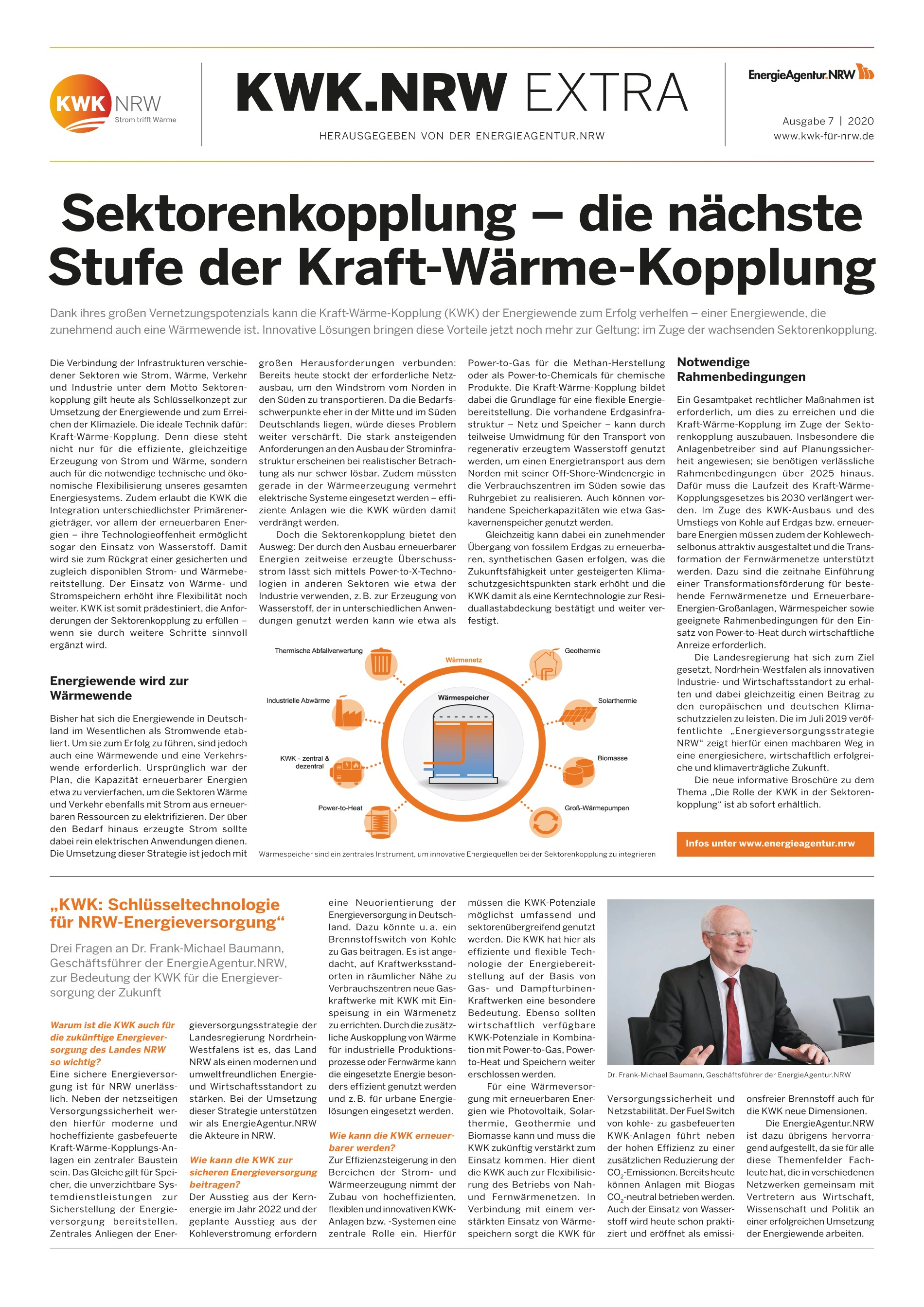 Themenblatt: Innovative Kraft-Wärme-Kopplungs-Systeme